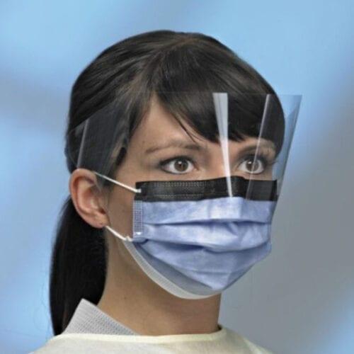 mask with visor