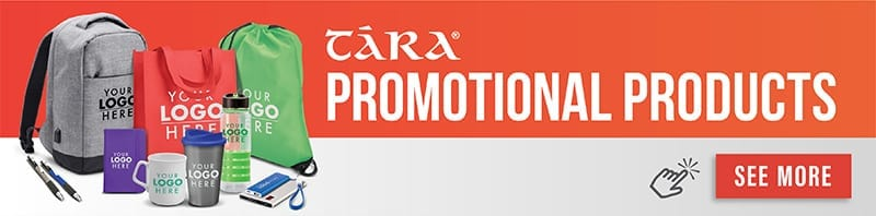 Tara Slevin Promotional merchandise products