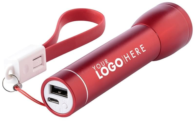 Power Bank and Torch Promotional item