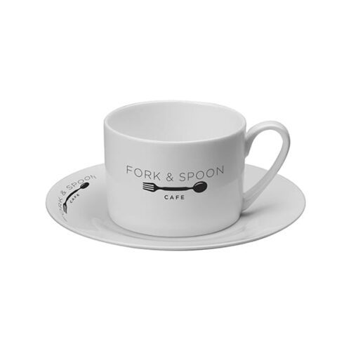 Stirling Cup & Saucer 255ml