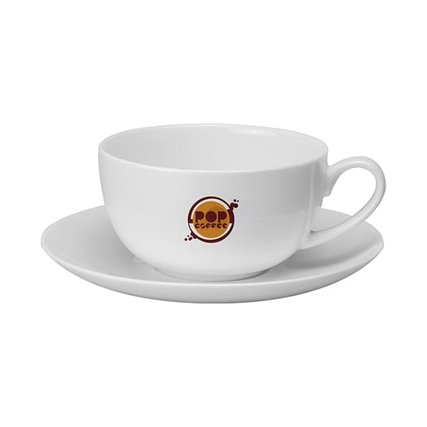 Cappuccino Cup & Saucer 340ml