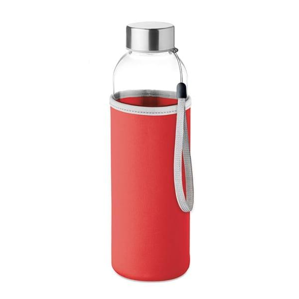 Glass drinking bottle 500ml