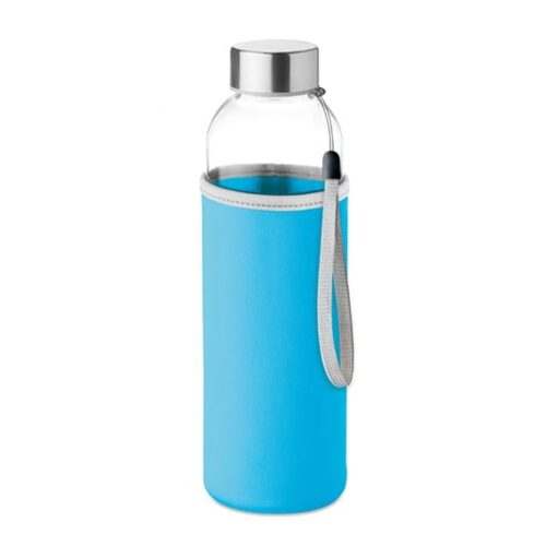 Glass drinking bottle 500ml