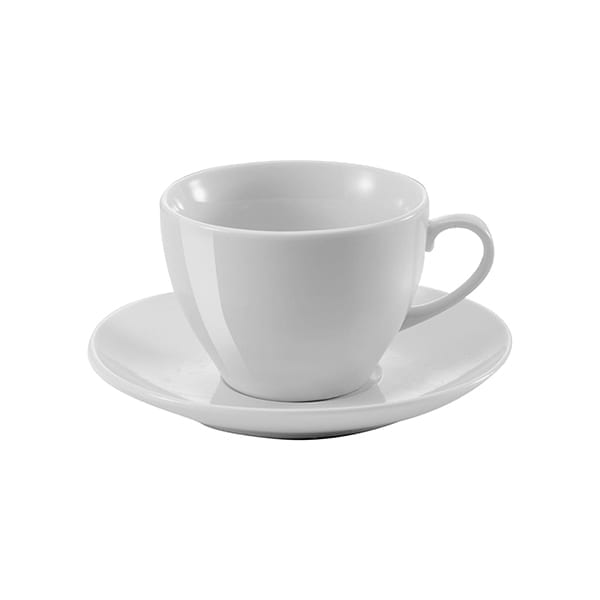 Porcelain cup and saucer 230ml