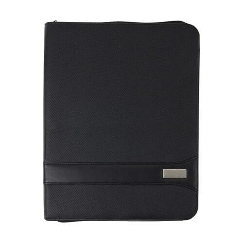 A4 PVC Zipped Folder