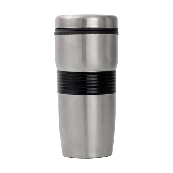 Metal double walled Travel Mug 500ml