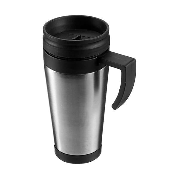 Metal double walled Travel Mug 420ml