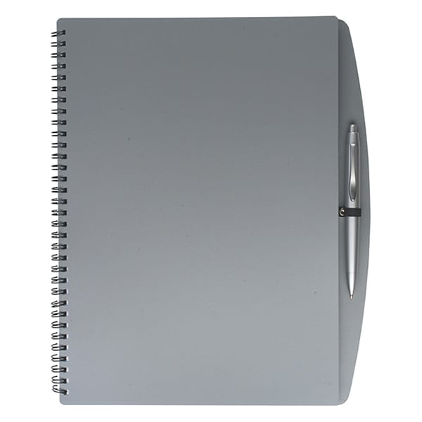 A4 Wire bound notebook and ballpen