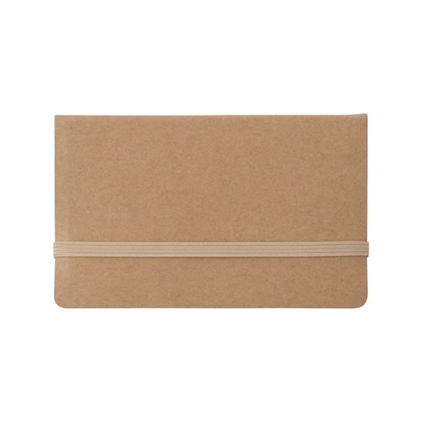 Card case with sticky tabs