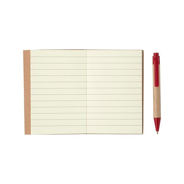 Small notebook with ballpen