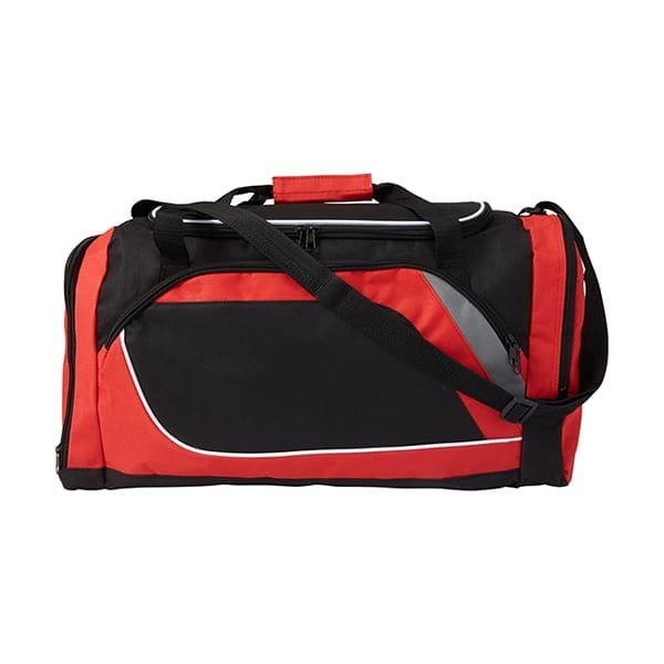 Polyester Sports Bag with a compartment for shoes