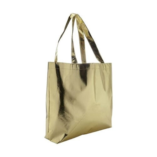 Nonwoven laminated shopping bag
