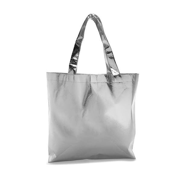 Nonwoven laminated shopping bag