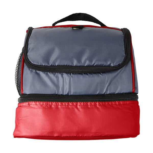 Polyester Cooler bag with two compartments