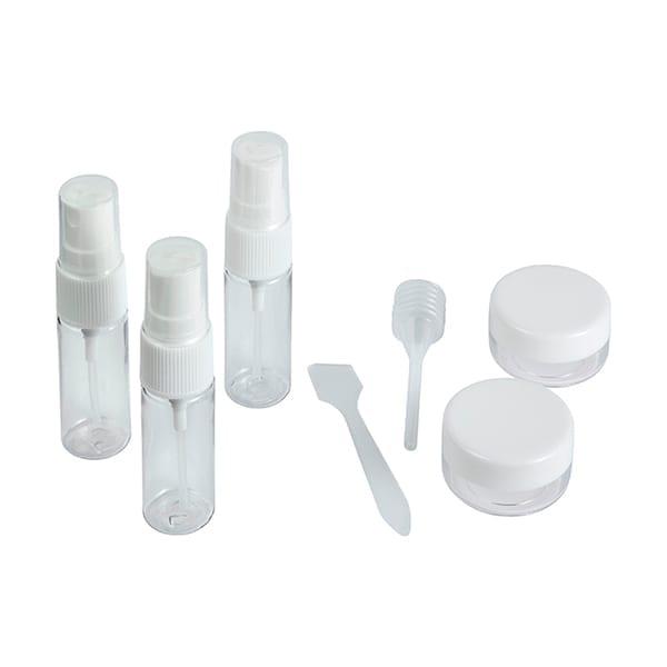 PET cosmetic travel kit