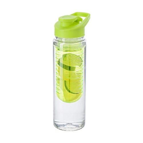 Tritan water bottle with fruit infuser 700ml