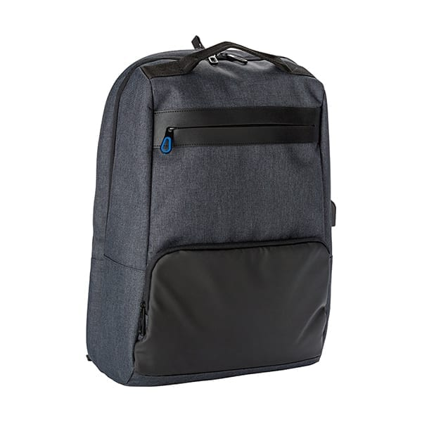Backpack with anti-theft back pocket