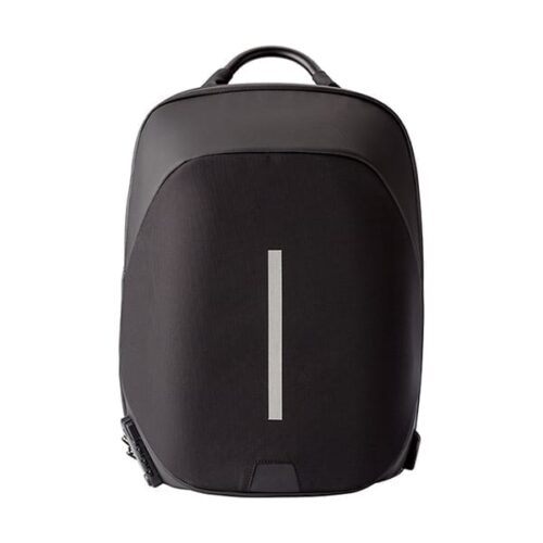 "Nylon Backpack with padded laptop 15"" and lock"