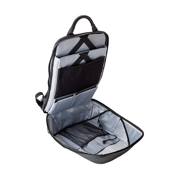 """Nylon Backpack with padded laptop 15"""" and lock"""