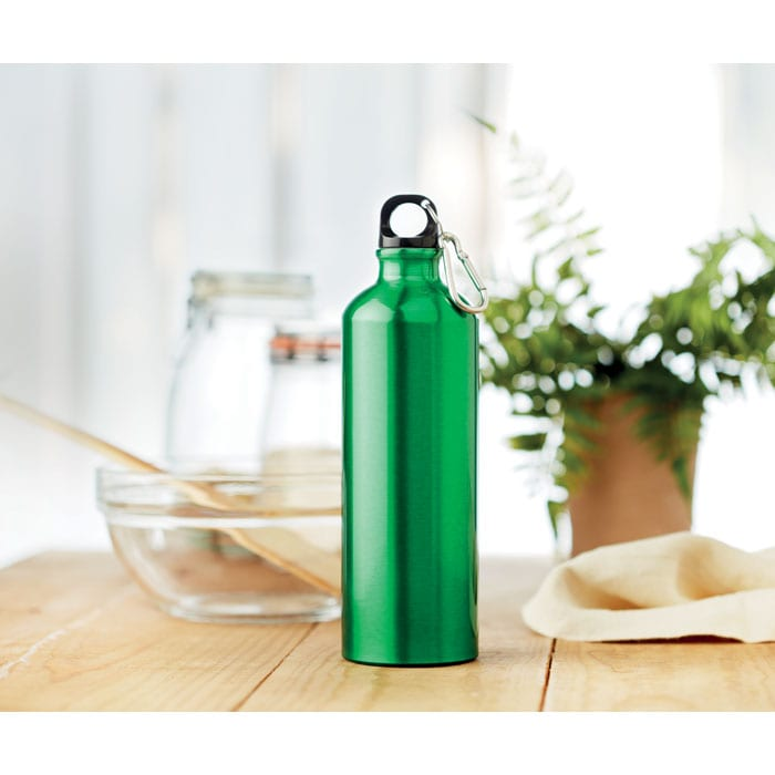 Aluminium flask, single wall 750ml