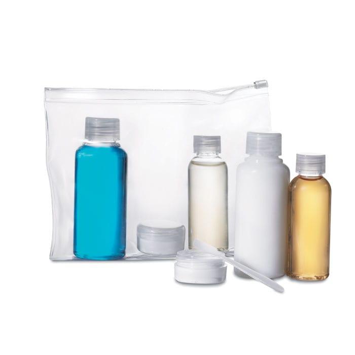 Plane travel kit bag
