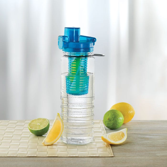 water bottle with fruit infuser 700ml