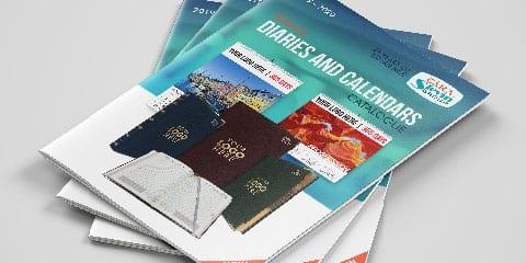 diaries and calendar brochure