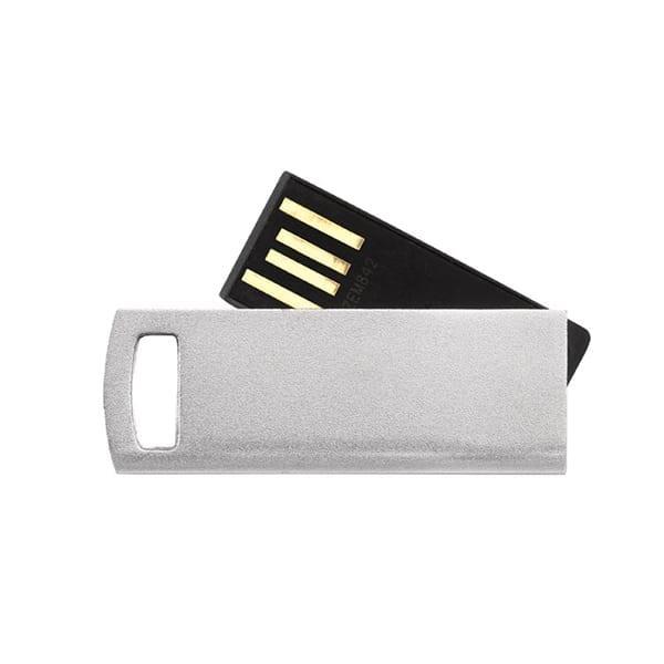 Ultra thin rotating USB flash drive