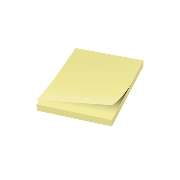 Printed A8 sticky notes