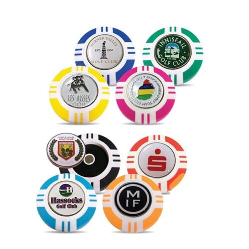 Vegas Poker Chip Markers