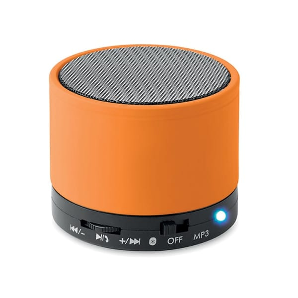 Bluetooth Speaker in ABS with rubber finish