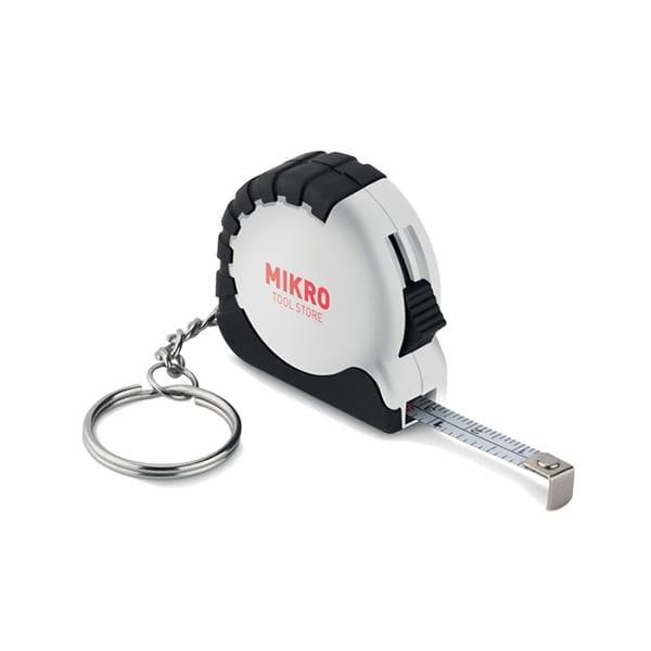 Small measuring tape keyring