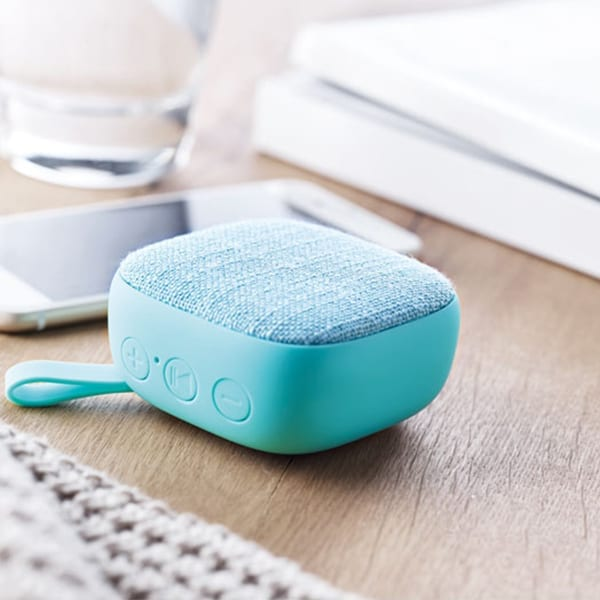 Bluetooth Square Speaker with rubber finish