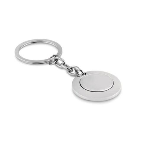 Metal Keyring with token