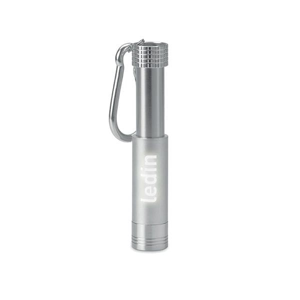 Aluminium & ABS LED keyring