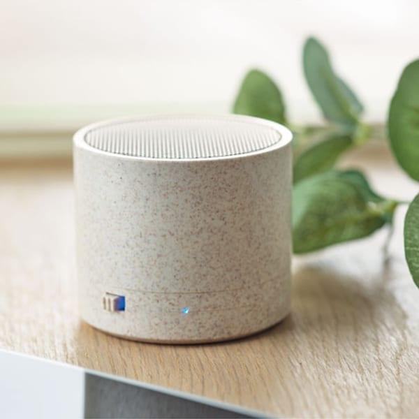 Bluetooth Speaker in wheat straw
