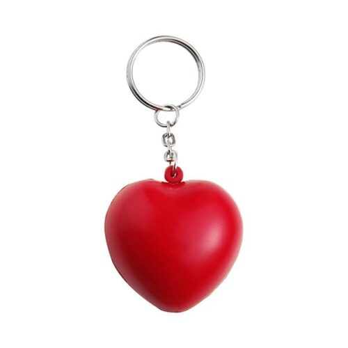 Anti stress heart Keyring