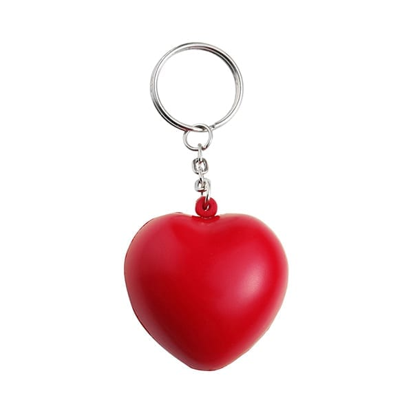 Anti stress heart Keyring