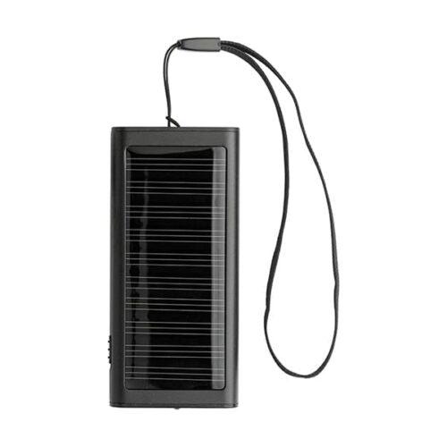 Aluminium Powerbank 800mAh solar charger