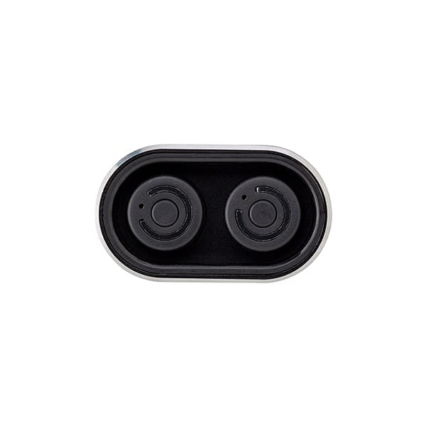 Powerbank with two wireless earbuds