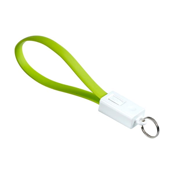 Charging cable and key holder in one
