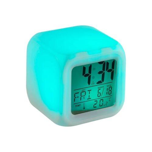 Cube alarm clock