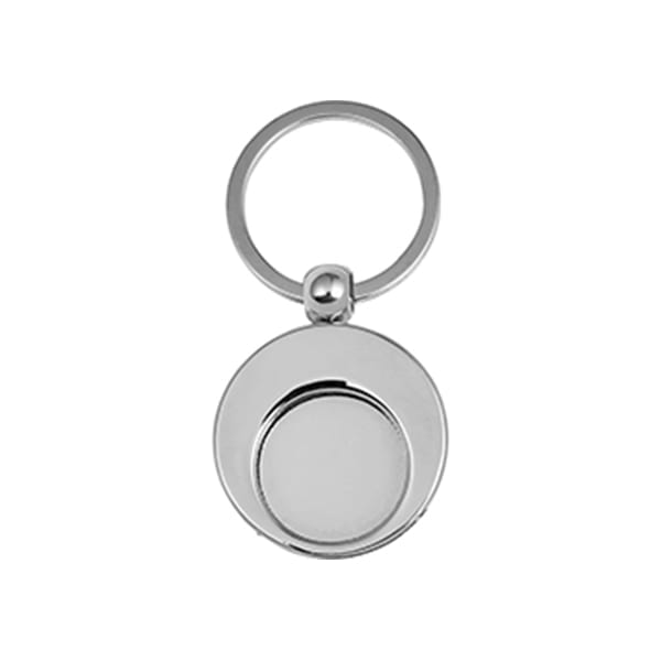 Round Keyring Trolley Coin