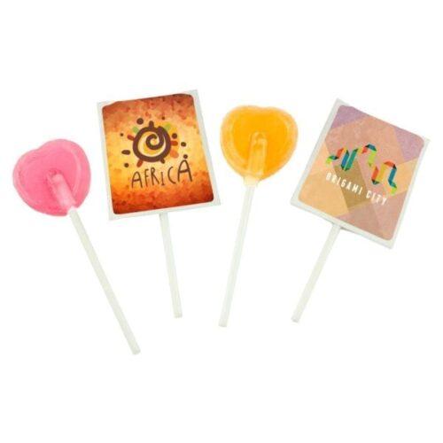 Lollipop in paper envelope