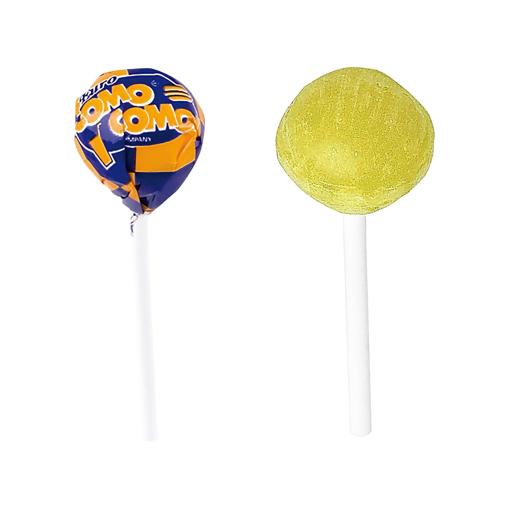 Flavoured ball lollipop