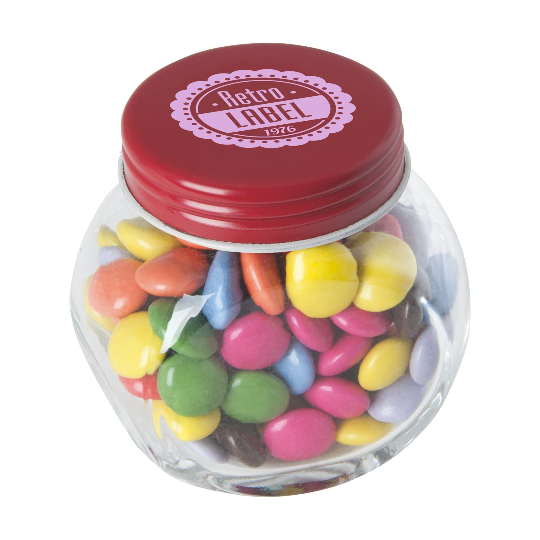 Small glass jar with Sweet