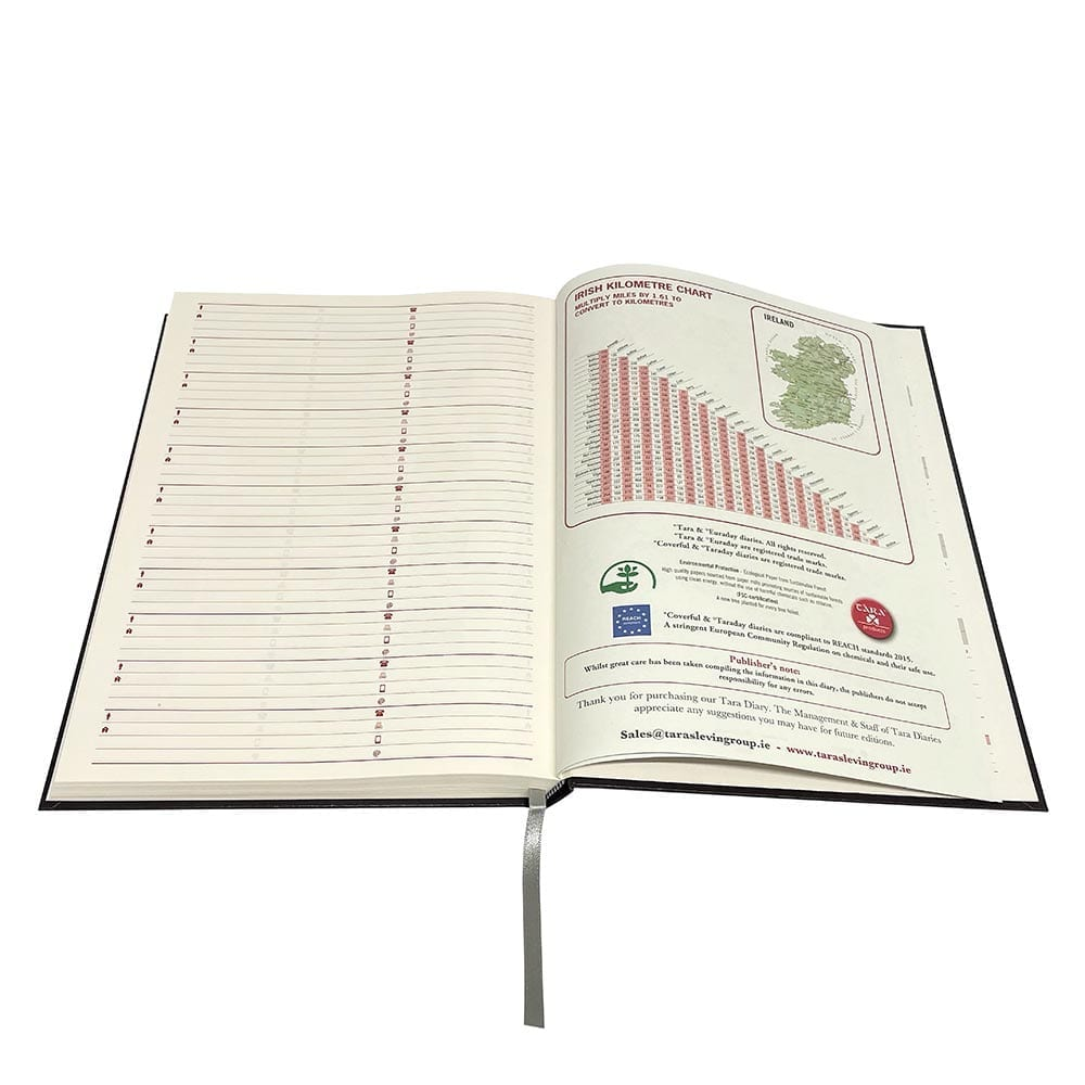 A4 Standard Diary (Day per page) 2022