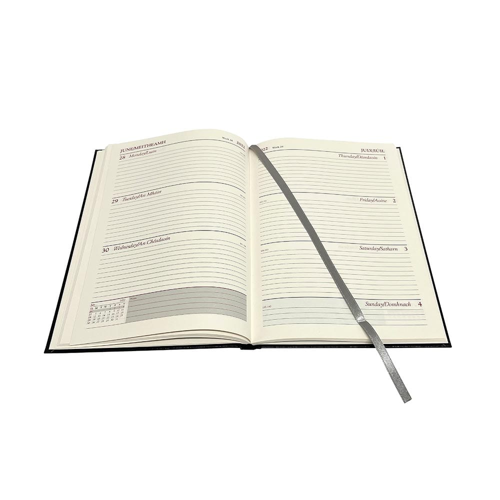 A5 Standard Diary (week to view) 2022