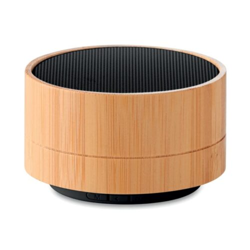 Bamboo and ABS Wireless Speaker with lights