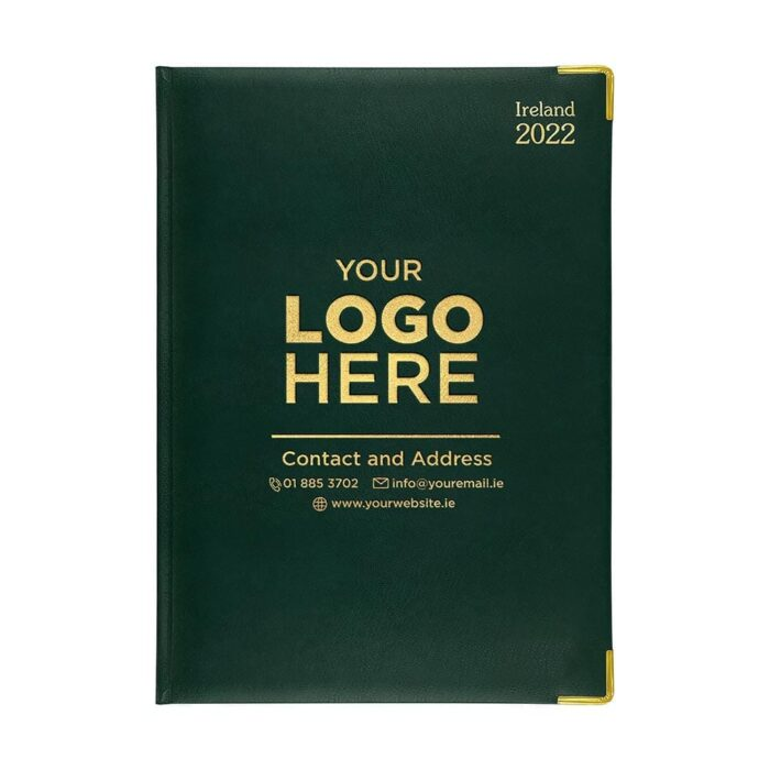 2021 A41 Deluxe Diary Green